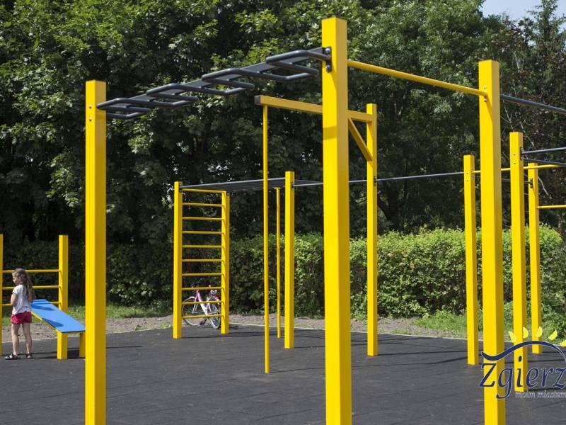 Budowa Street Workout Parku