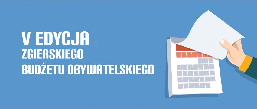 Harmonogram Budżetu Obywatelskiego 2019